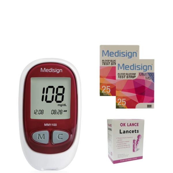 راهنمای خرید دستگاه تست قند خون مدل MM1100