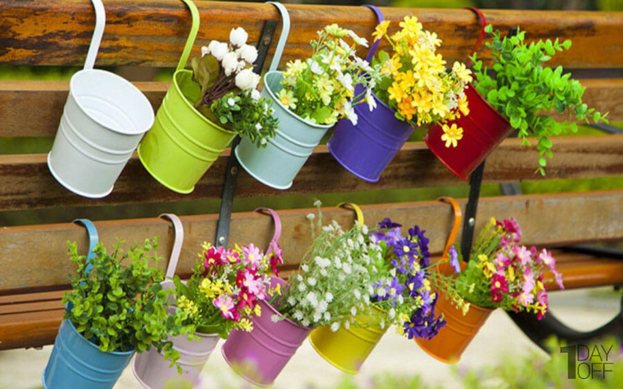 خرید آویز گلدان زیبا