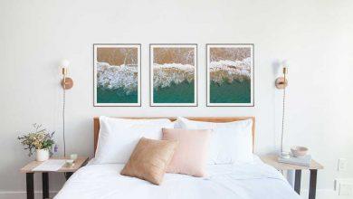 تصویر از چیدمان قاب عکس در اتاق خواب – عکس و چیدمان های زیبا
