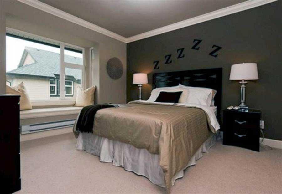 چیدمان قاب عکس در اتاق خواب شماره 8