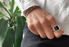 تصویر از بهترین انگشتر نقره مردانه + 20 مدل زیبا، ارزان + قیمت و عکس